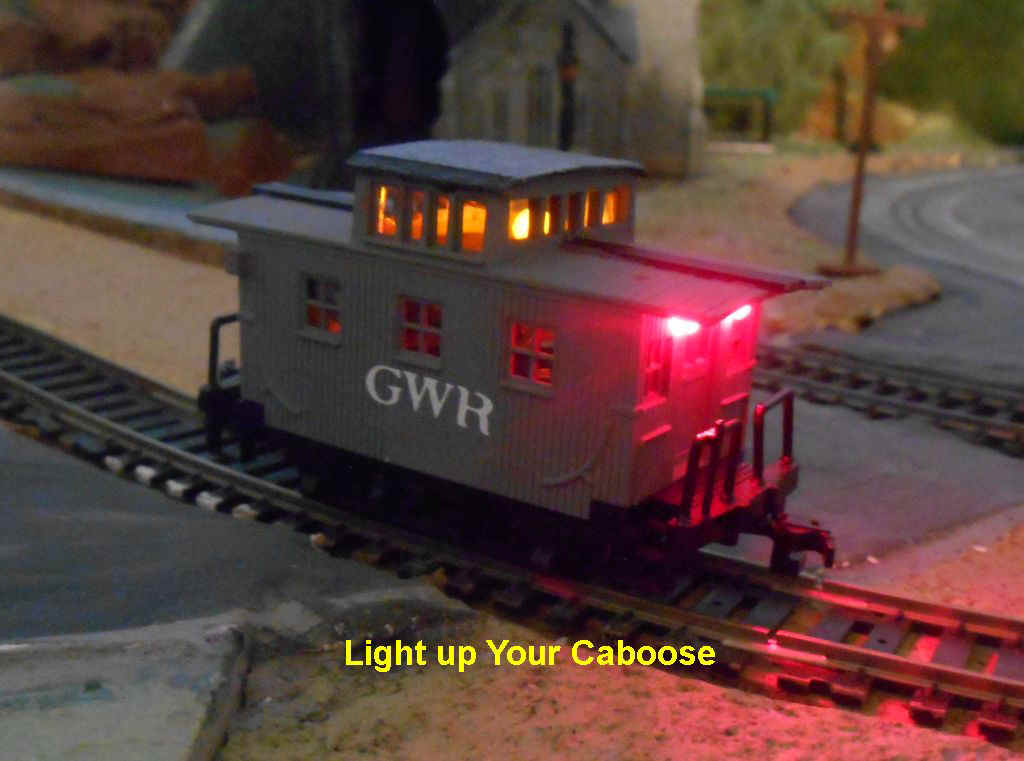 Project 5 Add Lighting to an HO Caboose